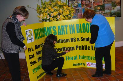Needham's Art in Bloom - Free Event